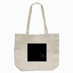 Cosmos Dark Hd Wallpaper Milky Way Tote Bag (cream) by BangZart