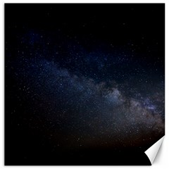 Cosmos Dark Hd Wallpaper Milky Way Canvas 16  X 16   by BangZart