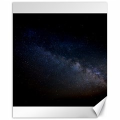 Cosmos Dark Hd Wallpaper Milky Way Canvas 16  X 20
