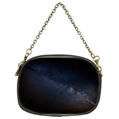 Cosmos Dark Hd Wallpaper Milky Way Chain Purses (one Side)  by BangZart