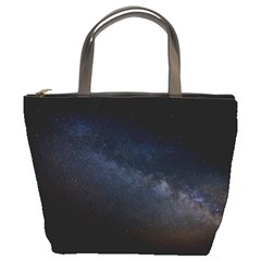 Cosmos Dark Hd Wallpaper Milky Way Bucket Bags by BangZart