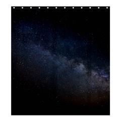 Cosmos Dark Hd Wallpaper Milky Way Shower Curtain 66  X 72  (large)  by BangZart