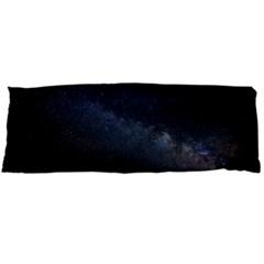 Cosmos Dark Hd Wallpaper Milky Way Body Pillow Case Dakimakura (two Sides) by BangZart