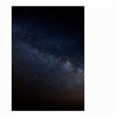 Cosmos Dark Hd Wallpaper Milky Way Small Garden Flag (two Sides) by BangZart