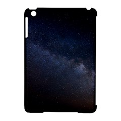 Cosmos Dark Hd Wallpaper Milky Way Apple Ipad Mini Hardshell Case (compatible With Smart Cover) by BangZart