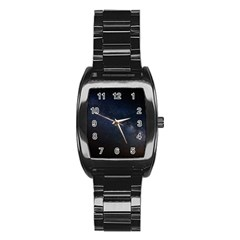 Cosmos Dark Hd Wallpaper Milky Way Stainless Steel Barrel Watch