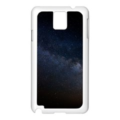 Cosmos Dark Hd Wallpaper Milky Way Samsung Galaxy Note 3 N9005 Case (white)