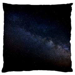 Cosmos Dark Hd Wallpaper Milky Way Standard Flano Cushion Case (two Sides) by BangZart
