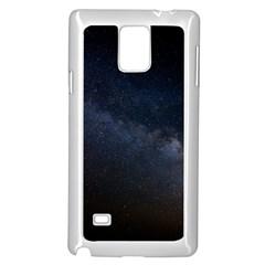 Cosmos Dark Hd Wallpaper Milky Way Samsung Galaxy Note 4 Case (white) by BangZart