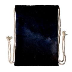 Cosmos Dark Hd Wallpaper Milky Way Drawstring Bag (large) by BangZart