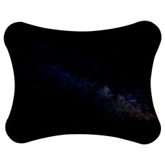 Cosmos Dark Hd Wallpaper Milky Way Jigsaw Puzzle Photo Stand (bow) by BangZart