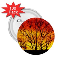 Sunset Abendstimmung 2 25  Buttons (100 Pack)  by BangZart