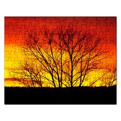 Sunset Abendstimmung Rectangular Jigsaw Puzzl