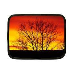 Sunset Abendstimmung Netbook Case (small)  by BangZart