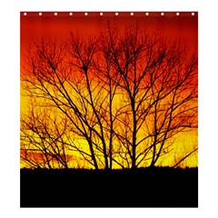 Sunset Abendstimmung Shower Curtain 66  X 72  (large)