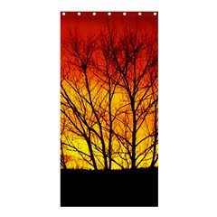 Sunset Abendstimmung Shower Curtain 36  X 72  (stall)