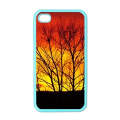 Sunset Abendstimmung Apple Iphone 4 Case (color) by BangZart