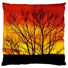 Sunset Abendstimmung Large Cushion Case (one Side)