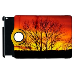 Sunset Abendstimmung Apple Ipad 2 Flip 360 Case by BangZart