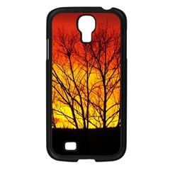 Sunset Abendstimmung Samsung Galaxy S4 I9500/ I9505 Case (black) by BangZart