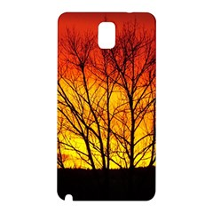 Sunset Abendstimmung Samsung Galaxy Note 3 N9005 Hardshell Back Case by BangZart