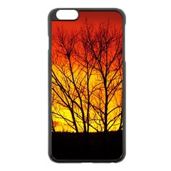 Sunset Abendstimmung Apple Iphone 6 Plus/6s Plus Black Enamel Case by BangZart