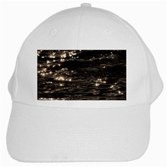 Lake Water Wave Mirroring Texture White Cap