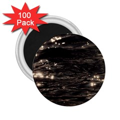 Lake Water Wave Mirroring Texture 2 25  Magnets (100 Pack)