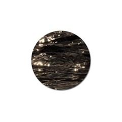 Lake Water Wave Mirroring Texture Golf Ball Marker