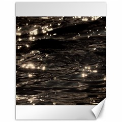 Lake Water Wave Mirroring Texture Canvas 12  X 16