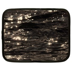 Lake Water Wave Mirroring Texture Netbook Case (large) by BangZart
