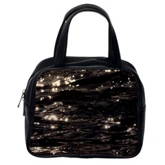 Lake Water Wave Mirroring Texture Classic Handbags (one Side) by BangZart
