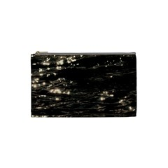 Lake Water Wave Mirroring Texture Cosmetic Bag (small)