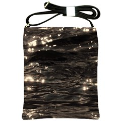 Lake Water Wave Mirroring Texture Shoulder Sling Bags by BangZart