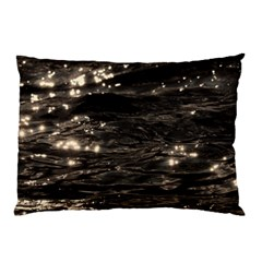 Lake Water Wave Mirroring Texture Pillow Case (two Sides) by BangZart