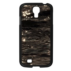 Lake Water Wave Mirroring Texture Samsung Galaxy S4 I9500/ I9505 Case (black)