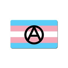 Anarchist Pride Magnet (name Card) by TransPrints
