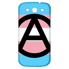 Anarchist Pride Samsung Galaxy S3 S Iii Classic Hardshell Back Case by TransPrints