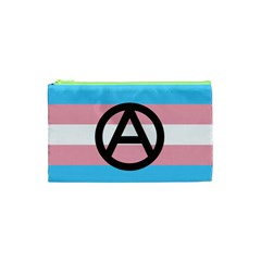Anarchist Pride Cosmetic Bag (xs) by TransPrints