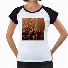 Ice Iced Structure Frozen Frost Women s Cap Sleeve T by BangZart