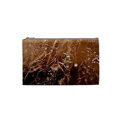Ice Iced Structure Frozen Frost Cosmetic Bag (small)  by BangZart