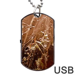 Ice Iced Structure Frozen Frost Dog Tag Usb Flash (one Side) by BangZart