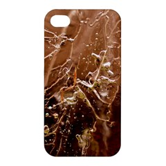 Ice Iced Structure Frozen Frost Apple Iphone 4/4s Premium Hardshell Case by BangZart