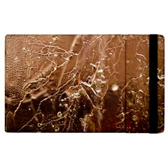 Ice Iced Structure Frozen Frost Apple Ipad 3/4 Flip Case by BangZart