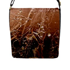 Ice Iced Structure Frozen Frost Flap Messenger Bag (l)  by BangZart