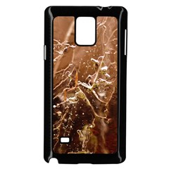 Ice Iced Structure Frozen Frost Samsung Galaxy Note 4 Case (black) by BangZart