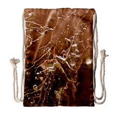 Ice Iced Structure Frozen Frost Drawstring Bag (large) by BangZart