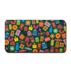 Presents Gifts Background Colorful Medium Bar Mats