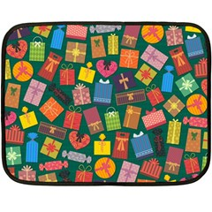Presents Gifts Background Colorful Double Sided Fleece Blanket (mini)  by BangZart