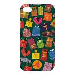 Presents Gifts Background Colorful Apple Iphone 4/4s Premium Hardshell Case by BangZart